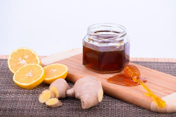 Honey, ginger and lemon tea is very effective in helping with cough and colds