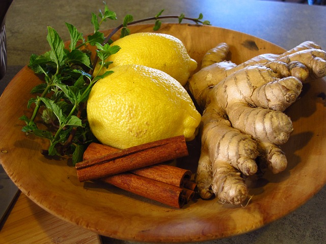 Fresh Ginger Tea Recipe: Lemon, Ginger, Cinnamon, Mint