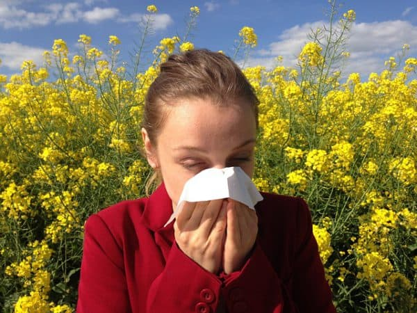 Allergy sneezing