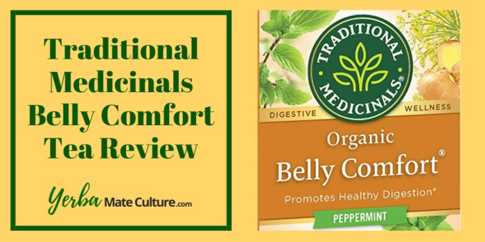 Traditional Medicinals Belly Comfort Tea Review