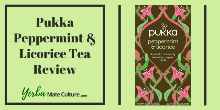 Pukka Peppermint Licorice Organic Tea Bags Review