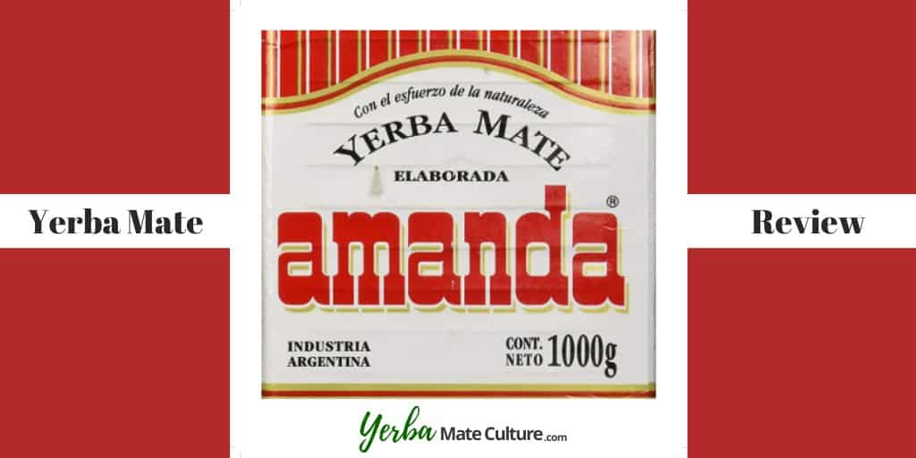 Amanda Yerba Mate Tea Review